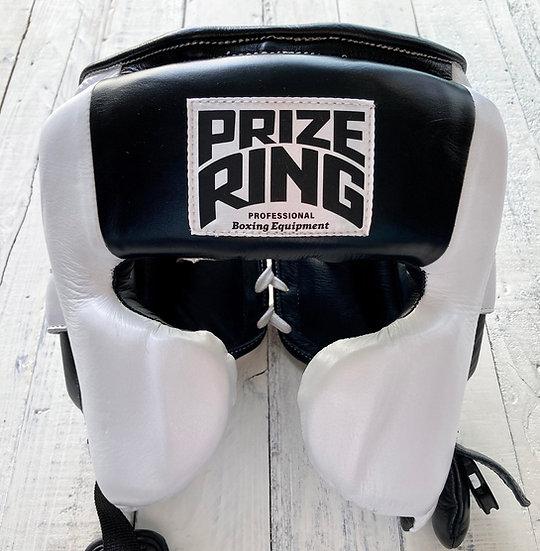 "PRIZE RING ""Pro-training"" Head guard White/Black"