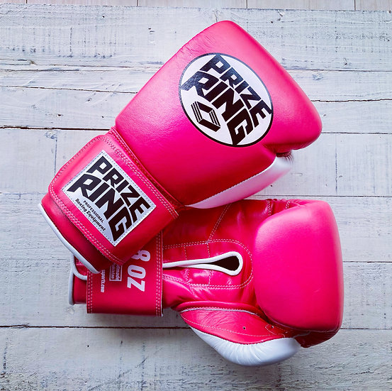 """""""Professional 5.0"""" boxing gloves Pink 8oz"""