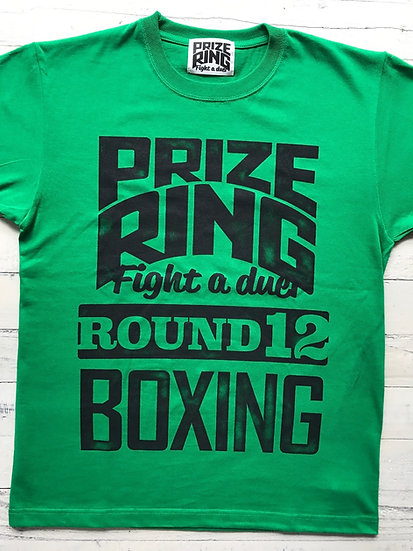 """Round 12"" TEE / Green / S,L"