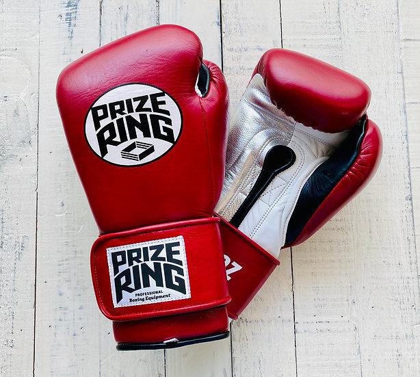 "PRIZE RING ""Pro-Training"" boxing gloves Wine 10oz"