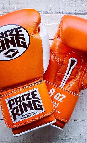 """Professional 5.0"" boxing gloves Orange/White 8oz"