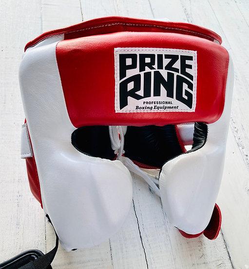 PRIZE RING Head guard White/Metallic red