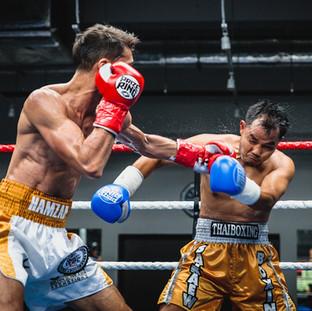 HAMZAH FAROUK, WBC Asia Continental Super feather weight champion