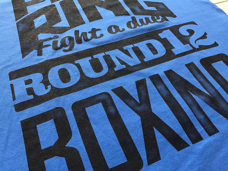 """""""Round 12"""" TEE / Blue / S,M"""