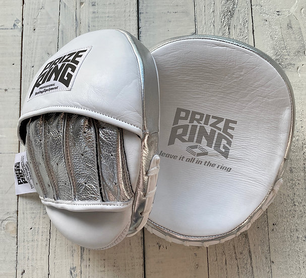 PRIZE RING Focus mitt White/Silver