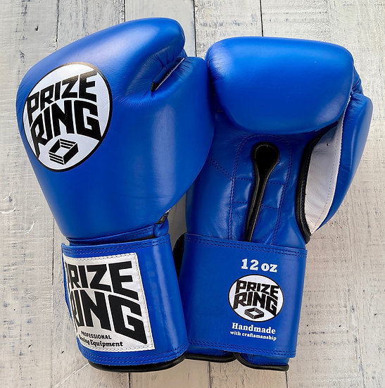 "PRIZE RING ""Professional 5.0"" boxing gloves Blue 12oz"