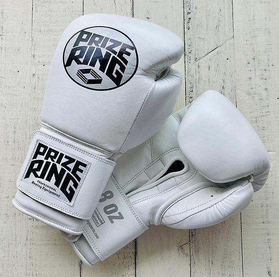 """Professional 5.0"" boxing gloves White 8oz/10oz"