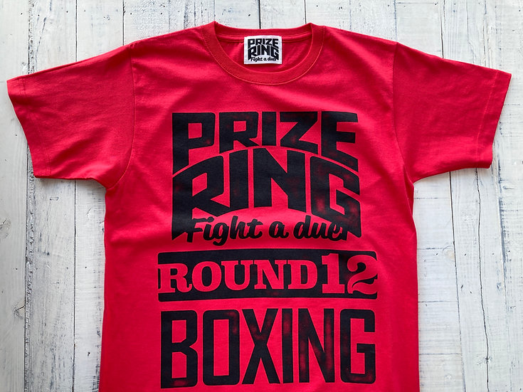 """""""Round 12"""" TEE / Red / M"""