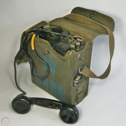 WWII Army Field Telephone