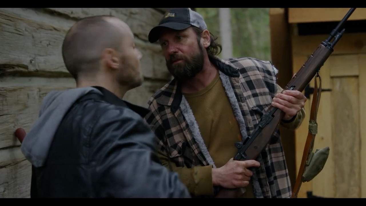 """Screen safe M14 on the set of """"Jameson"""""""