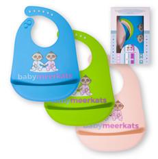 Baby Meerkats Bibs