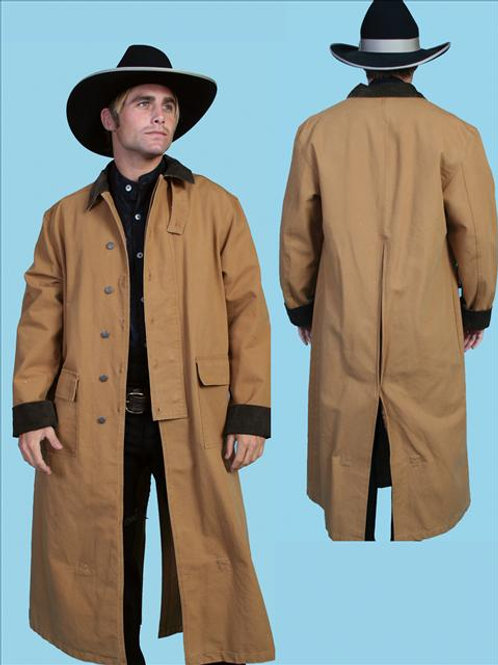 Khaki Range Coat Duster