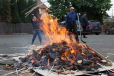 BCMH Chametz Burning 2016