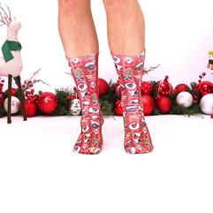 Living Royal Holiday Socks Holiday Ad