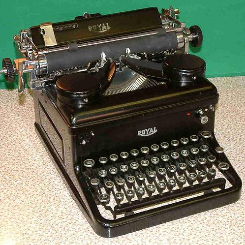 Royal Typewriter (1934)
