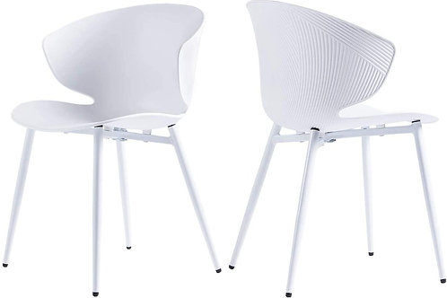 Clamshell Dining Chairs x4