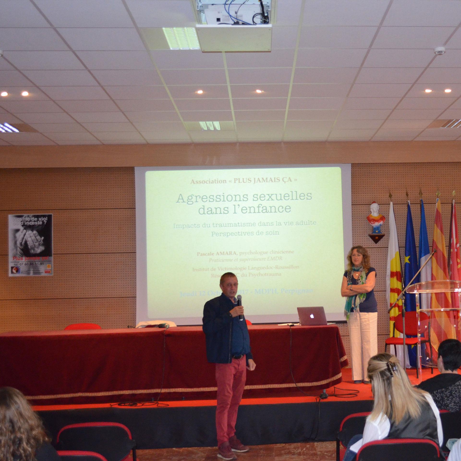 Conférence avec Pascale AMARA