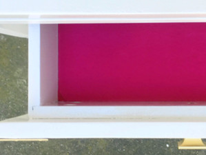 DIY Velvet-Lined Drawers