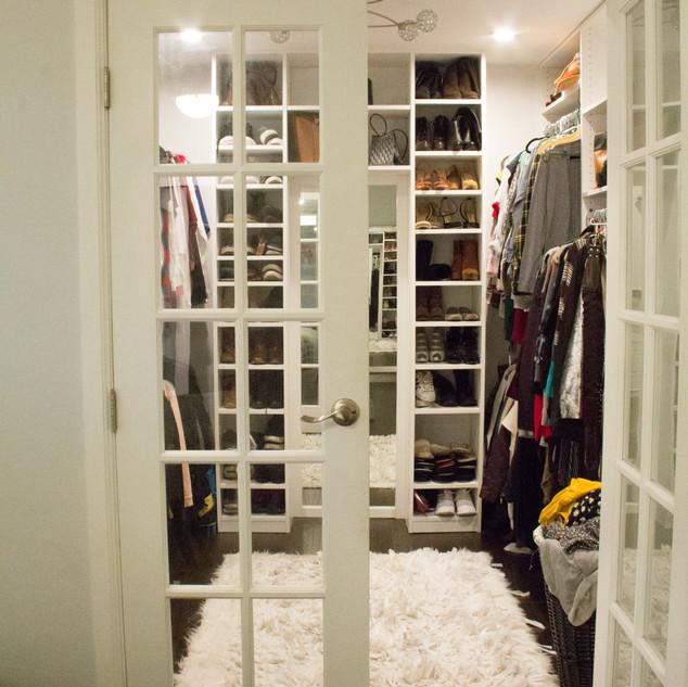 Contemporary Closet