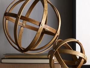 $3 DIY Sphere Sculpture in 15 Minutes