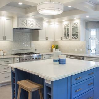 Transitional Kitchen, Laundry & Bath