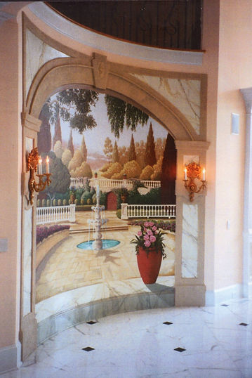 Decorative and Mural Painting, Broward and Palm Beach counties