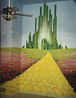 Wizard of Oz Themed PlayroomfeaturingCustom Mural and Decorative Painting
