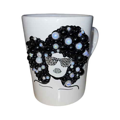 Afrocentric Bling Coffee Mug