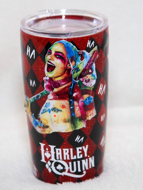 Birds of Prey Harley Quinn Tumbler