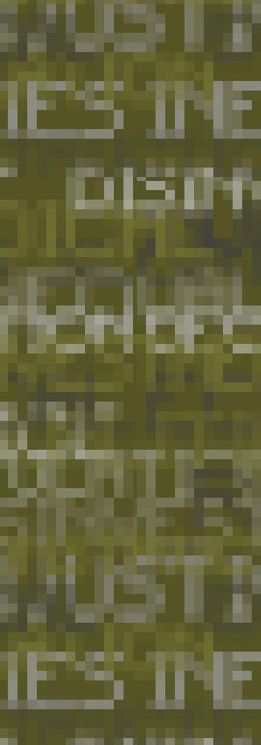 Camo Pixelated Print
