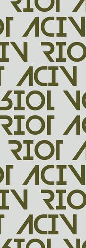 'ACIV RIOT' Khaki Print