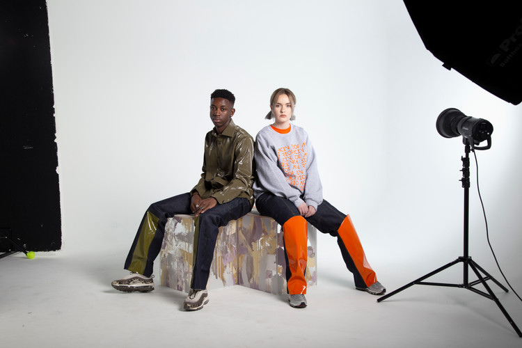 Photographer: @hibbert98  Models: @jennylangleyy @pete_donkor_junior
