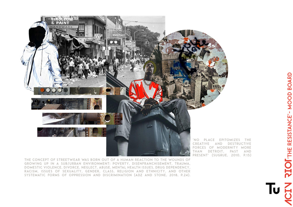 'The Resistance' Portfolio submitted for TU Scholarship