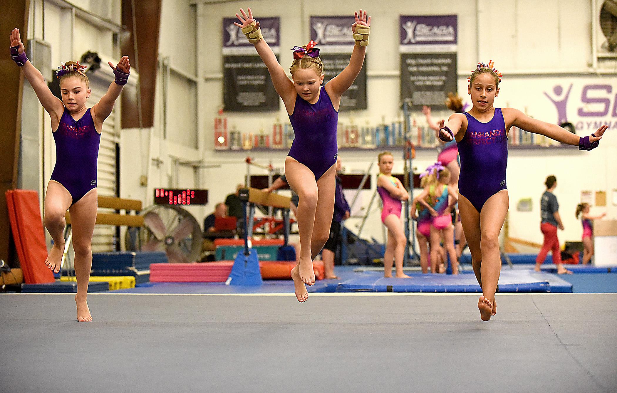 0611 state games gymnastics