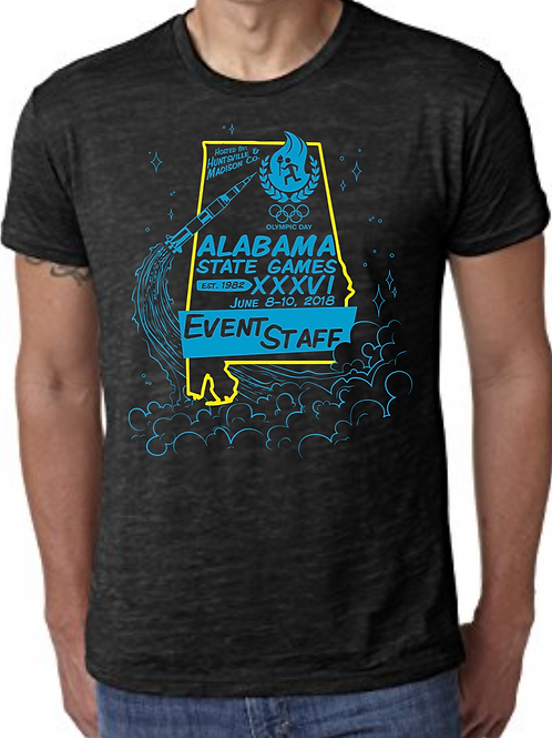 2018 Alabama State Games EVENT STAFF- Premium Shirt