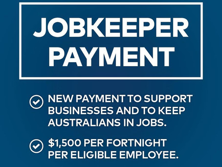 COVID-19 Update   JobKeeper Payment