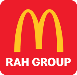 RAH GROUP Maccas M on Red