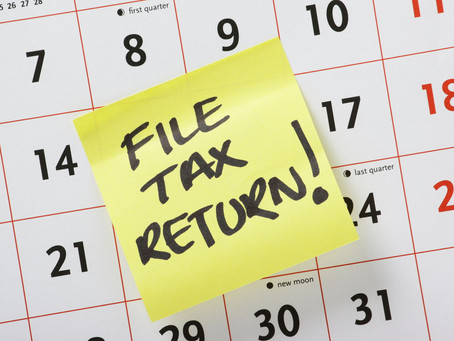 #TaxTipTuesday - When is my tax return due?