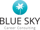 Blue Sky Career Consulting Logo Career Coach