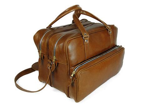 COLTRANE Travel Leather Bag