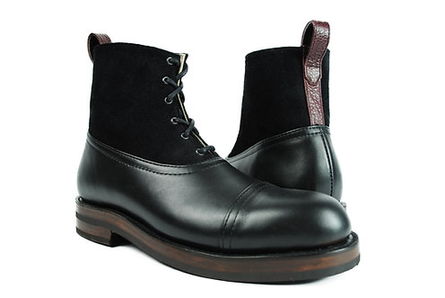 HESSE  3 Tone Leather SUEDE Heavy Duty Ankle