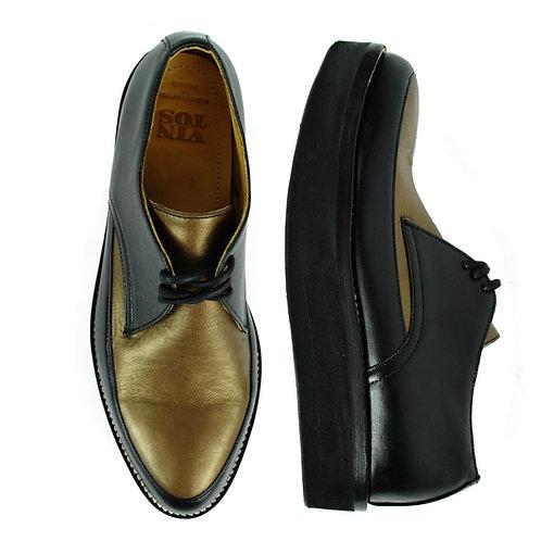 BORROUGHS  Women's Platform Shoes Two Tone