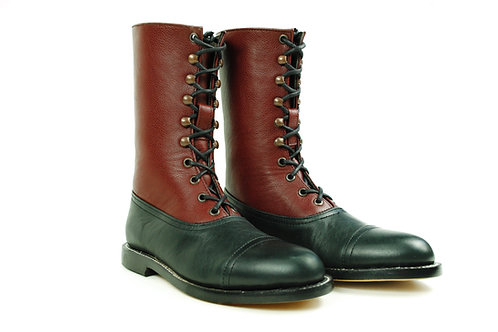 HESSE Balmoral Two Tone Boots