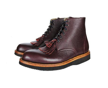 KEROUAC Fringe Kiltie Work Boots