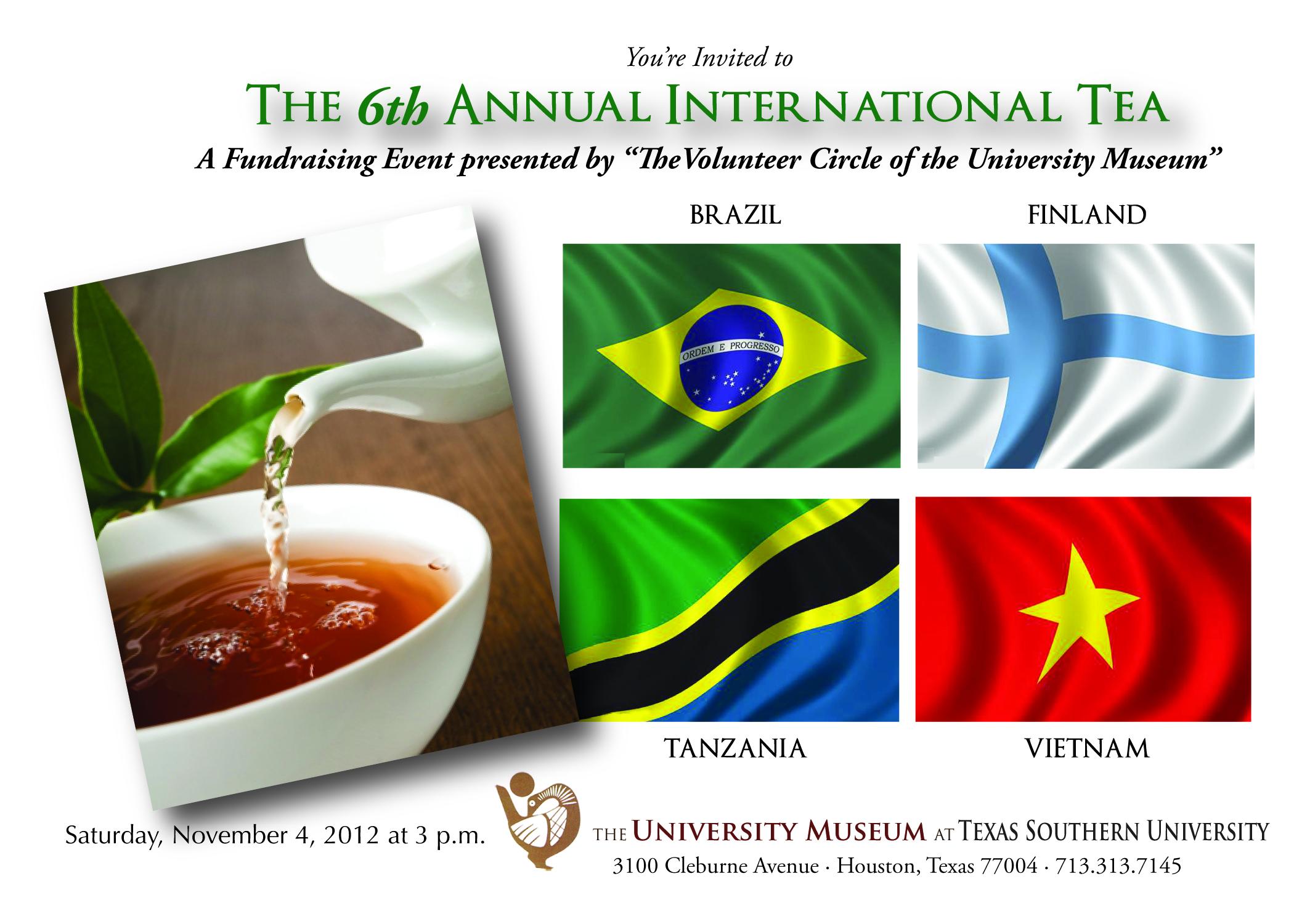 6th Annual International Tea 2012