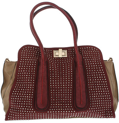 Delta Burgandy Hang Bag