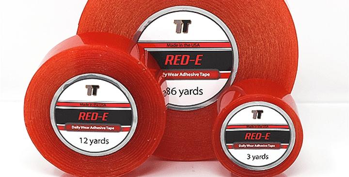 "Base Tape (Red-E) - 3yrd x 1"""