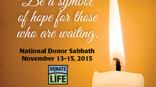 National Donor Sabbath