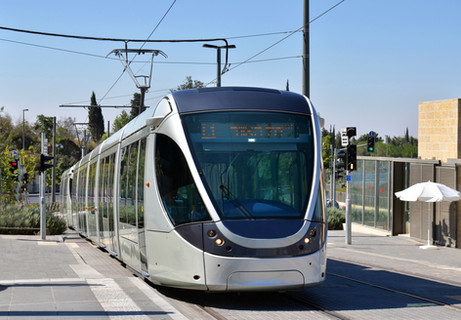 Jerusalem Light Train   Israel