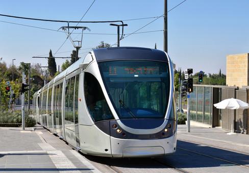 Jerusalem Light Train | Israel